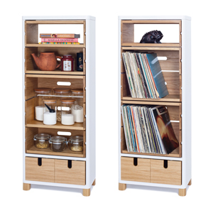 COW Cabinet with Boxes S6-401