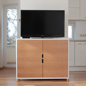 COW Cupboard with TV