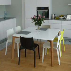 COW Table 120 Square for Dining